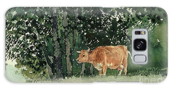 Cow In Pasture Galaxy S8 Case