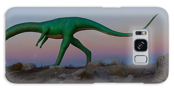 66 Galaxy Case - Dinosaur Loose On Route 66 by Mike McGlothlen