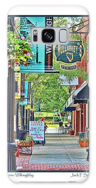 Downtown Willoughby Galaxy Case