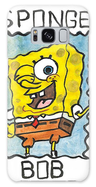 Draw A Sponge Galaxy Case by Ana Tirolese
