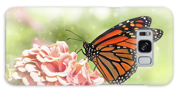 Dreamy Monarch Butterfly Galaxy Case