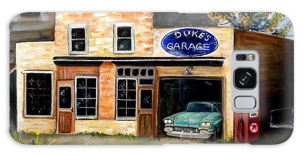 Duke's Garage Galaxy Case by Renate Nadi Wesley