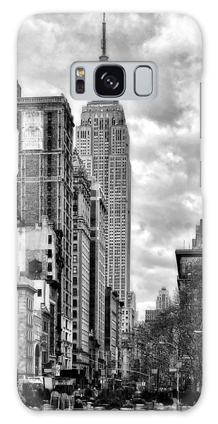 Empire State Building Galaxy Case by Michael Dorn