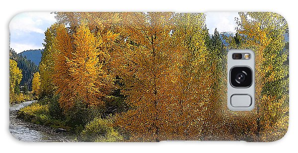 Fall Colors Galaxy Case by Steve McKinzie