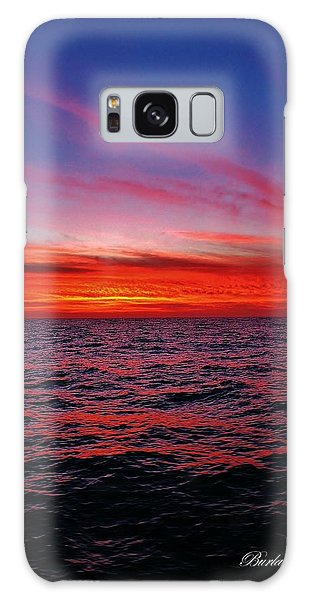 Fire On The Water Galaxy Case