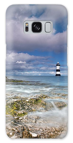 Fishing By The Lighthouse Galaxy Case