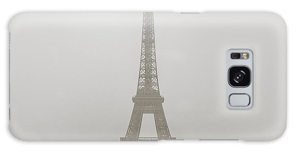 Foggy Morning In Paris Galaxy Case