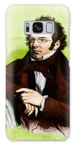 Schubert Galaxy Case - Franz Peter Schubert, Austrian Composer by Omikron