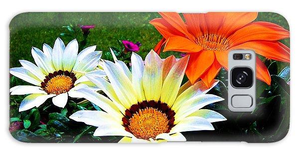 Garden Daisies Galaxy Case