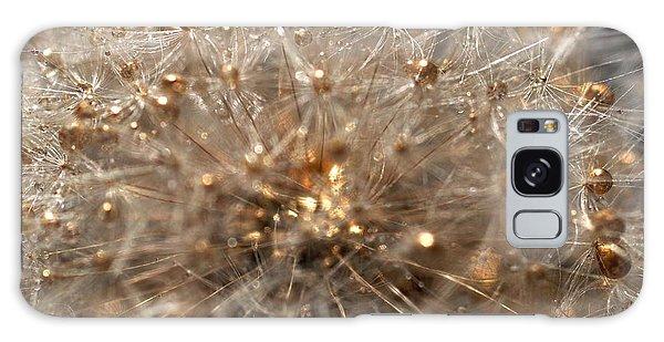 Golden Flower Galaxy Case by Sylvie Leandre