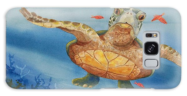 Henry C. Turtle-lunch With Friends Galaxy Case