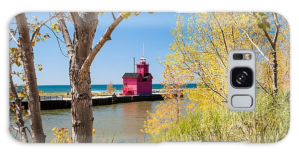 Holland Mi Lighthouse Galaxy Case
