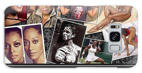 Motivational Galaxy Case - I Love Black Women by Nigel Williams