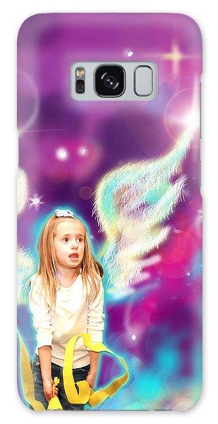Jewell.angelic 3 Galaxy Case