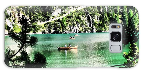 Transportation Galaxy Case - Lake Of Braies - South Tyrol by Luisa Azzolini