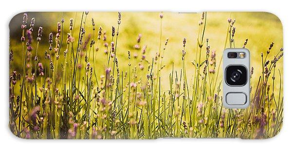Lavender Gold Galaxy Case by Sara Frank
