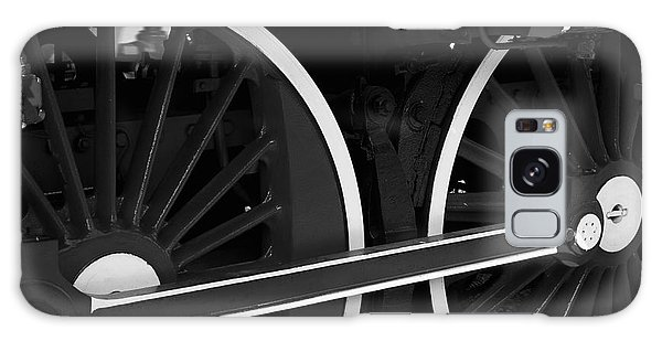 Locomotive Wheels Galaxy Case