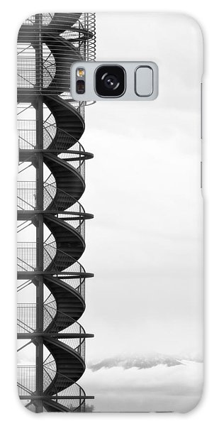 Desert View Tower Galaxy Case - Look Out by Joana Kruse