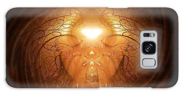 Love Prayer Galaxy Case by Jalai Lama