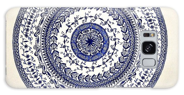 Mandala Galaxy Case by Sylvie Leandre