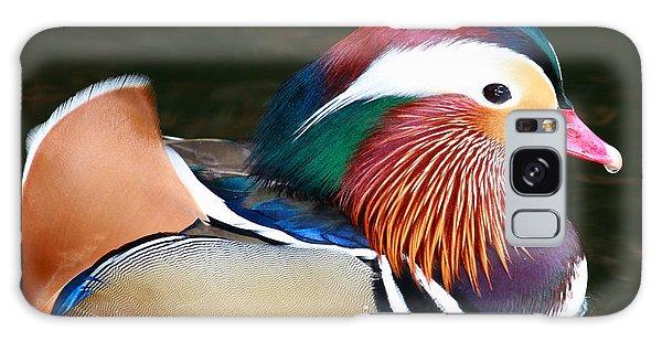 Mandarin Duck Galaxy Case by Paul Marto