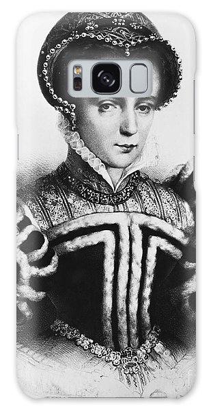 Mary I, Queen Of England And Ireland Galaxy Case by Omikron