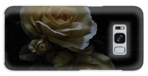Midnight Roses Galaxy Case by Cedric Hampton