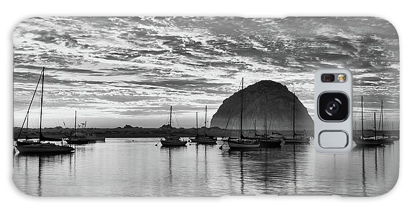 Morro Bay On Fire Galaxy Case