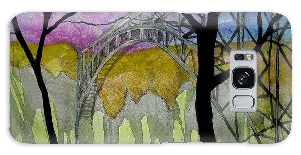 New River George Bridge Galaxy Case by Amy Sorrell