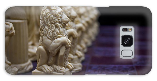 Pawns In A Row Galaxy Case by Doug Long