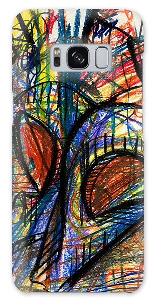 Picasso Galaxy Case by Sheridan Furrer