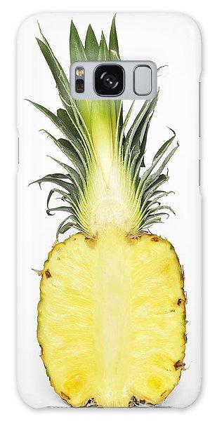 Pineapple Ananas Comosus Galaxy Case by Matthias Hauser