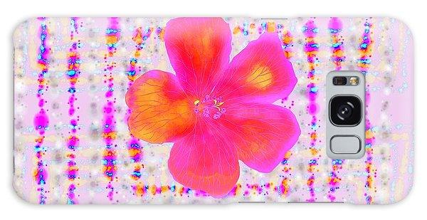 Pink On Pink Galaxy Case by Barbara Moignard