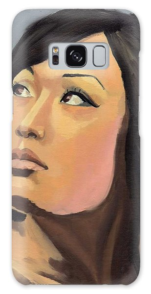Portrait Galaxy Case