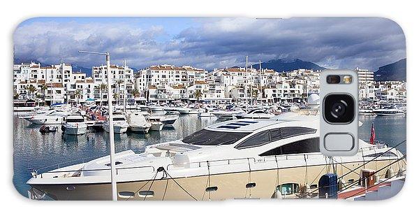 Powerboat Galaxy Case - Puerto Banus Marina by Artur Bogacki