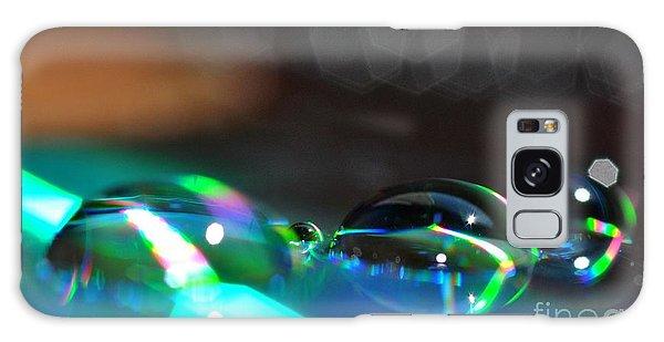 Rainbow Drops Galaxy Case by Sylvie Leandre