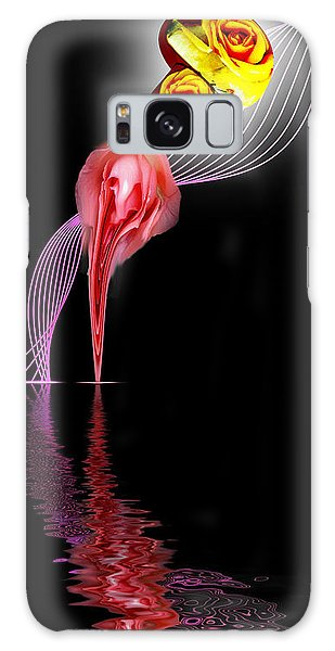 Rose In A Bottle Galaxy Case