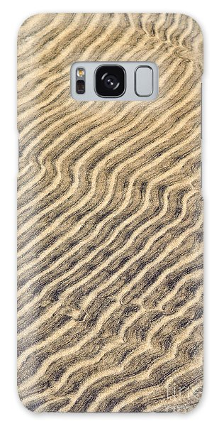 Sand Galaxy Case - Sand Ripples In Shallow Water by Elena Elisseeva