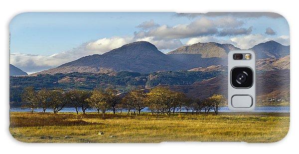 Scottish Landscape View Galaxy Case