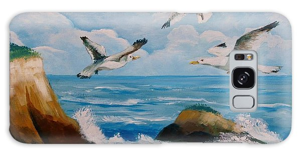 Seagulls Galaxy Case