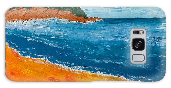 Seascape Galaxy Case by Judi Goodwin