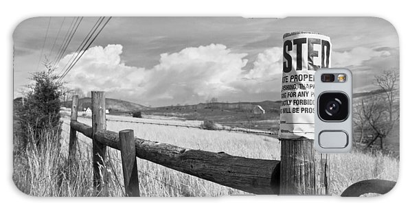 Fence Post Galaxy Case - Signs by Betsy Knapp