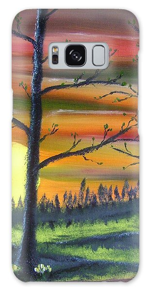 Spring Sunrise Galaxy Case