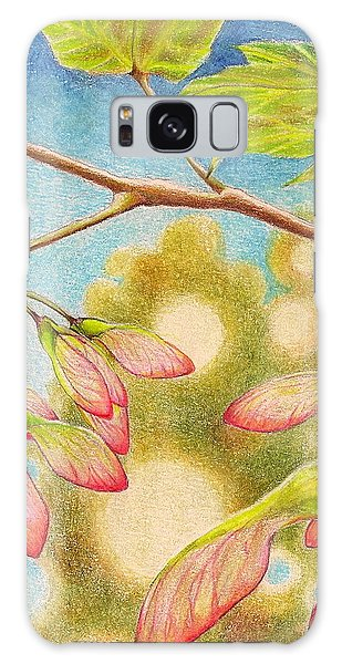 Springtime  Galaxy Case by Robin Birrell