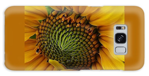 Sunflower Close Up Galaxy Case by Bruce Bley