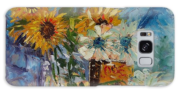 Sunflower Still Life Galaxy Case