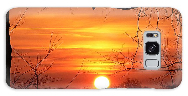Sunrise In Tennessee Galaxy Case by EricaMaxine  Price