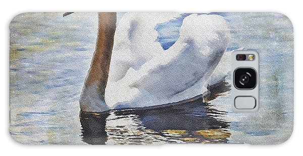 Lake Galaxy Case - Swan by Joana Kruse