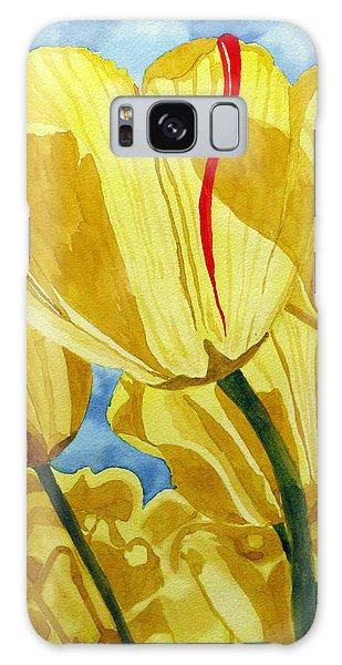 Tender Tulips Galaxy Case