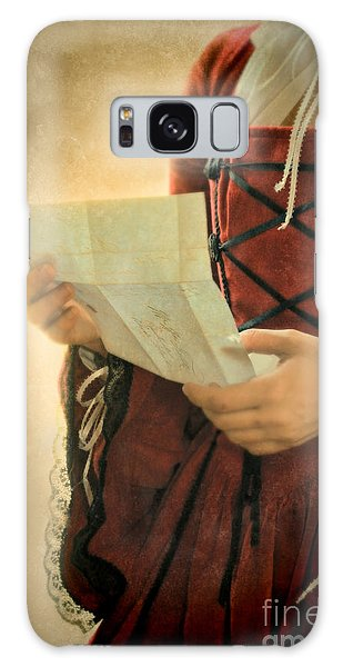 Paper Dress Galaxy Case - The Letter by Jill Battaglia